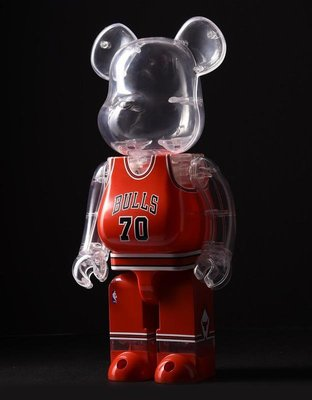 ++全新 Be@rbrick Bearbrick 400% 2016 NBA Chicago Bulls 芝加哥 公牛