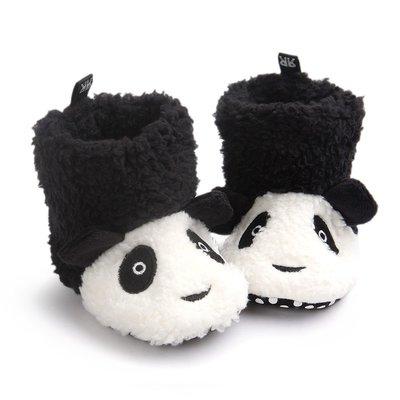 鞋鞋樂園-可愛熊貓靴子-學步鞋-娃娃鞋...