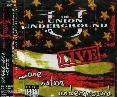 K - Union Underground - Live One Nation - 日版 - NEW