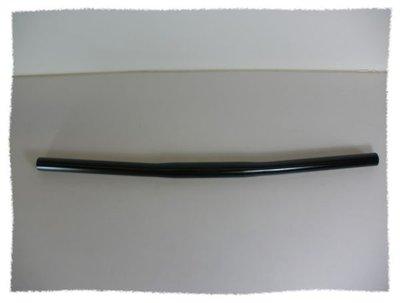 《意生》直式車把(碳鋼)  車手橫管 (黑色)
