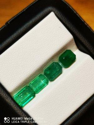 💖玉殿珠寶💖天然極微油祖母綠共4.95克拉