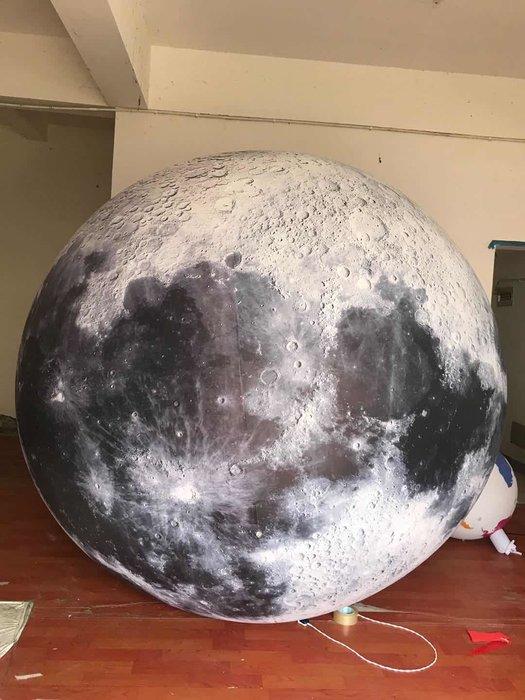 [衣林時尚] 超大充氣月球 200cm 訂製 預購 約7日