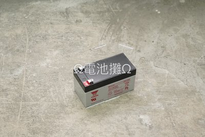 Ω電池攤Ω高雄·產業電池(VRLA)·YUASA NP1.2-12_ 標準型