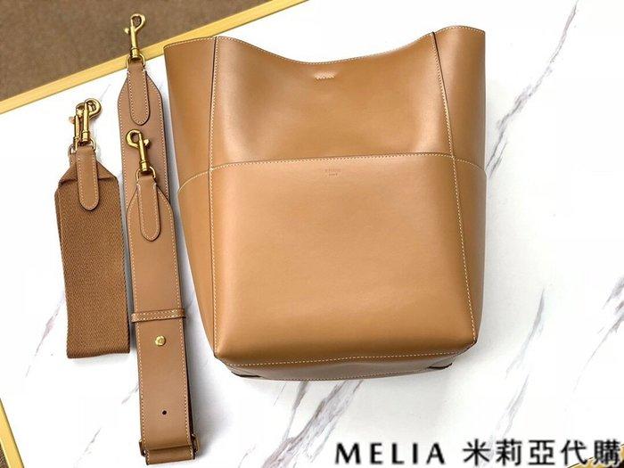 Melia 米莉亞代購 商城特價 數量有限 每日更新 19ss CELINE 水桶包 手提單肩斜背 簡約時尚 棕色