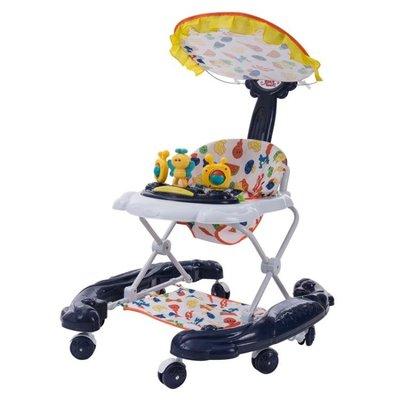 嬰兒幼兒童寶寶學步車多功能防側翻防o型腿手推可摺疊男女孩學行 igo