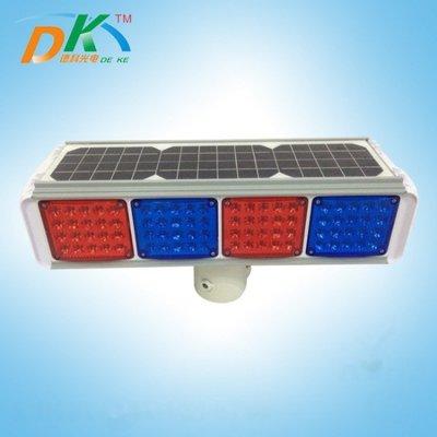 智能交通專業生產廠家 太陽能爆閃燈一體化警示燈 紅藍爆閃燈【歡迎詢價】