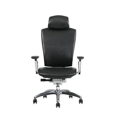 【BNS居家生活館】台灣製BACKBONE -頂級時尚台灣製whale-高級真牛皮-辦公椅/辦公椅/椅子