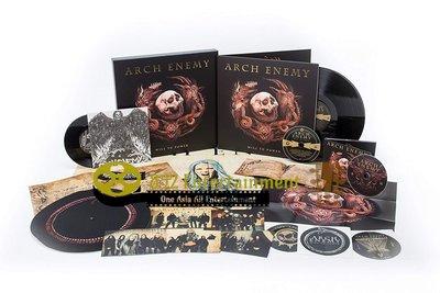 Arch Enemy 罪惡之神樂團 Will To Power 3CD Boxset 2017 (包郵)