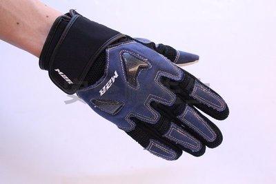 【安全帽先生】M2R G-09 G09 碳纖維 護具休閒 短 手套 CARBON 藍 /  黑 桃園市