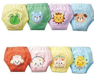 【批貨達人】嬰幼兒動物圖案4層防水學習褲訓練褲屁屁褲練習褲