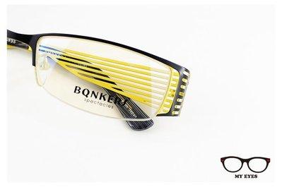 【My Eyes 瞳言瞳語】BONKERS斑馬紋光學眼鏡 適合上班族/小資女
