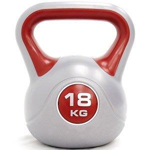 KettleBell運動18公斤壺鈴39.6磅18KG壺鈴拉環啞鈴搖擺鈴舉重量訓練重力健身C113-1818【推薦+】