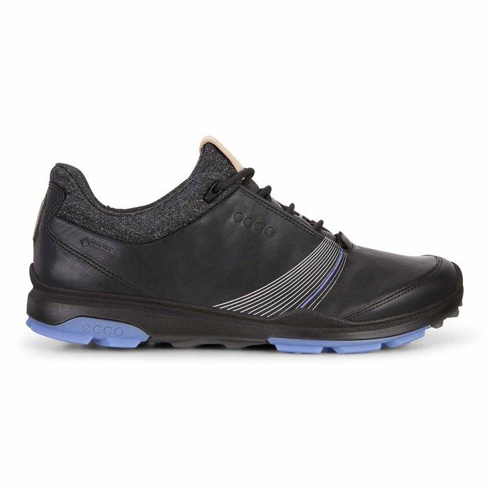 ┌喻蜂高爾夫┐ECCO 女高爾夫球鞋 黑 無釘款 現貨37~39號