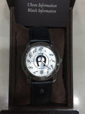 AIGNER 馬蹄手錶(愛格納)