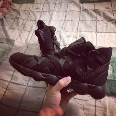 高端 全素面 編織鞋 厚底 彈性 超高品質  運動Run 男女鞋
