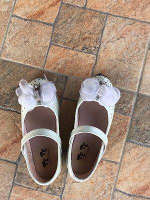 白色娃娃鞋20公分
