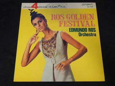 【柯南唱片】Edmundo Ros // Ros Golden Festival>>日版LP
