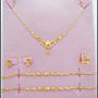 結婚金飾 結婚套鍊 新娘飾品 黃金手鍊 項鍊...