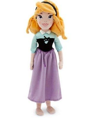 【美國大街】正品.美國迪士尼睡美人奧蘿拉軟布手抱娃娃睡美人絨毛娃娃最佳陪睡娃娃 Aurora 21吋 / 53cm