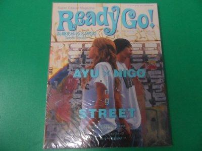 大熊舊書坊-日本雜誌 Ready Go !  封面:浜崎あゆみx NIGO 2003/11no.4 未拆封-30