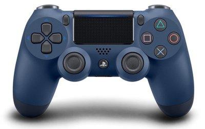 SONY PS4 原廠無線控制器 新版 震動手把 D4 午夜藍 台灣原廠公司貨 CUH-ZCT2G22【台中恐龍電玩】