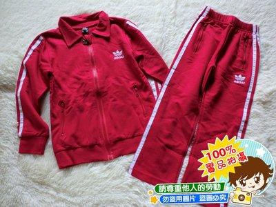 ❤厤庭童裝舖❤最後一套【C247】紅色運動風上衣外套+長褲套裝(110CM)