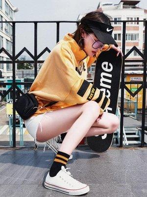 5雙條紋韓國襪子女中筒襪韓版學院風日系學生秋季運動百搭潮牌
