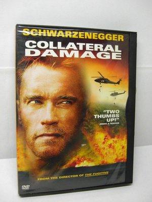 【正版DVD】間接傷害(Collateral Damage 2001)1碟.3區已拆