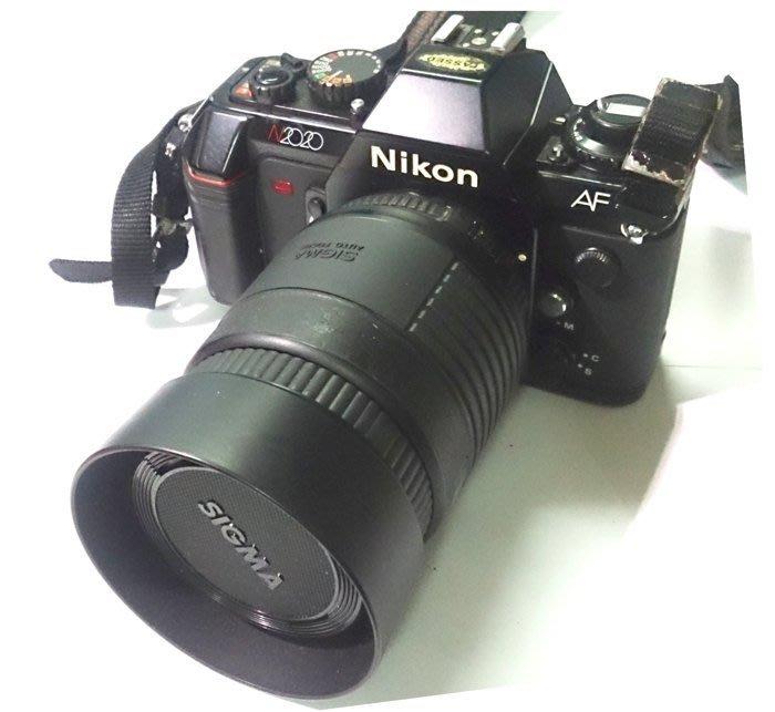 ☆手機寶藏點☆ Nikon N2020 黑 相機 單眼 類單眼 底片 傻瓜相機 出清 收藏 零件 Che C7