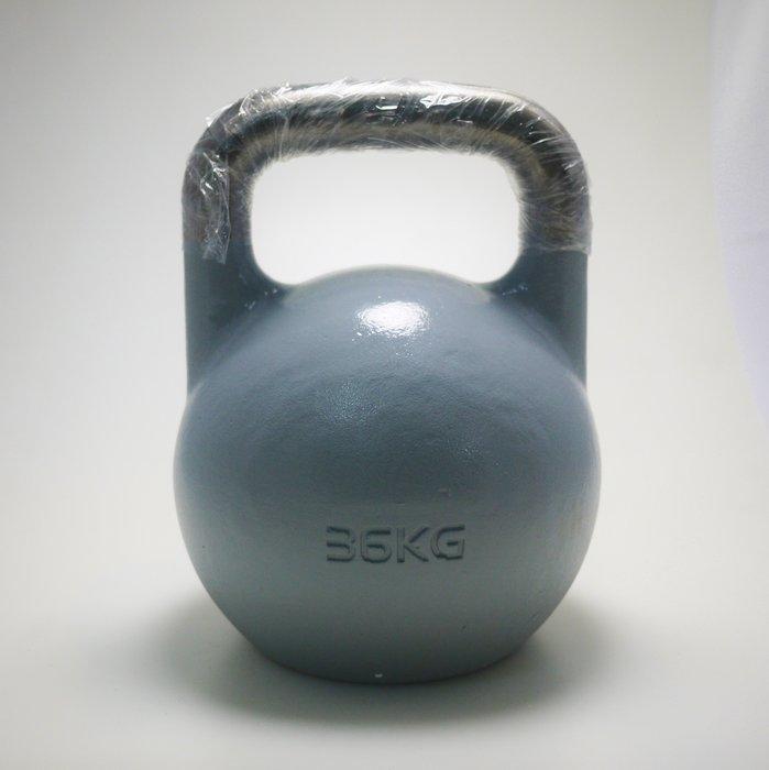【神拳阿凱】Krypton 一體成型 競技壺鈴 36kg 灰色 運費到付