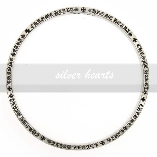 【SILVER HEARTS】Goro's Chrome Hearts 克羅心 6mm spacer 刻字 純銀手環手鍊