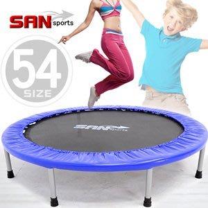 【推薦+】SAN SPORTS 跳跳樂54吋彈跳床C144-54跳跳床彈簧床.彈跳樂彈跳器.平衡感兒童遊戲床.運動健身器