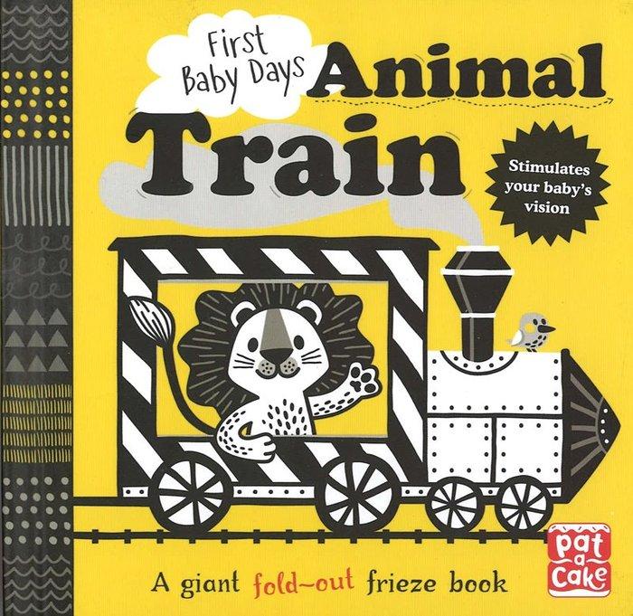*小貝比的家*ANIMAL TRAIN/FIRST BABY DAYS/硬頁/3~6歲/交通工具