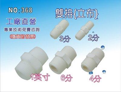【龍門淨水】4分濾組雙接 立布 淨水器 濾水器 RO純水機 飲水機(貨號368-2)
