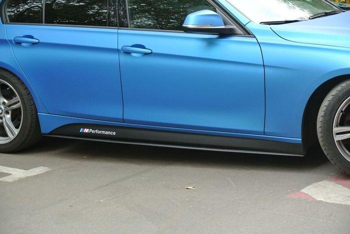 【樂駒】BMW F30 F31 M Performance 側裙 定風翼 改裝 精品 原廠 套件 空力 外觀