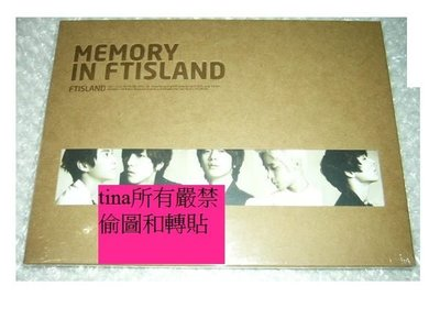 李洪基F.T Island韓國原版翻唱專輯FTIsland Remake Album - Memory in FTIsland全新未拆下標即售