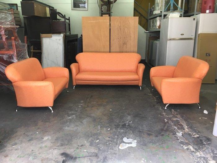 非凡二手家具 全新小丸子2+2+3人座沙發組*客廳沙發*皮沙發*洽談沙發*辦公沙發*二手沙發*精品沙發*全新沙發