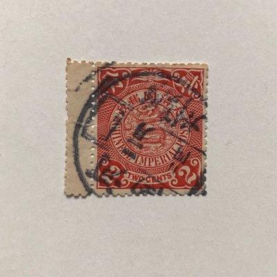 清代倫敦版蟠龍郵票