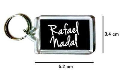 〈可來圖訂做-鑰匙圈〉Rafael Nadal 拉菲爾納達爾 壓克力雙面鑰匙圈 (可當吊飾)