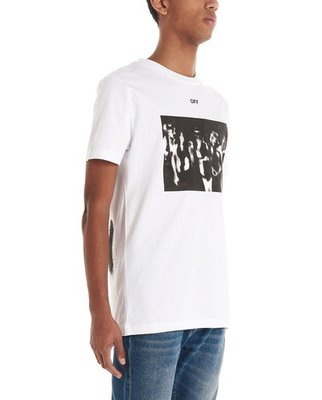 OFF-WHITE 男女皆可穿白色T恤 尺寸XXS/XS 限時特價$6380/件💙