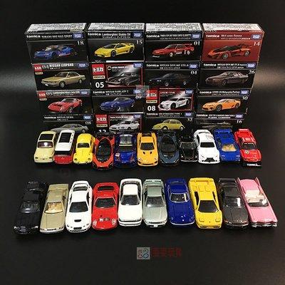 正品潮流日本Tomica多美卡TOMY合金車模Premium黑盒收藏 TP系列惡魔法拉利