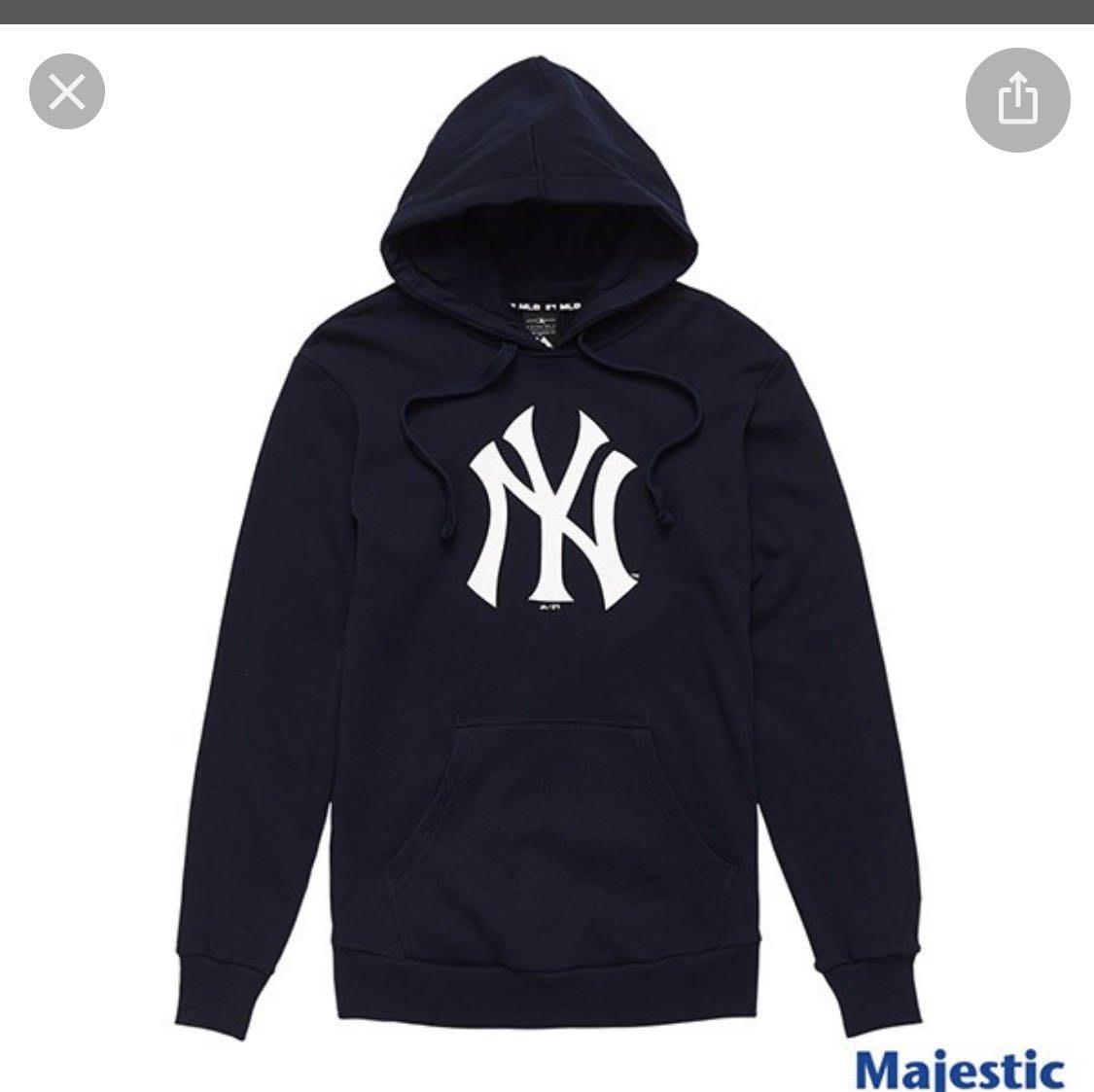 *dodo_sport*MLB秋冬T恤 厚長袖 衣服~洋基隊深藍藍色 直購1800免運-
