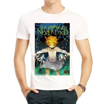 The Promised Neverland T-shirt 白色 短袖 約定的夢幻島 T恤