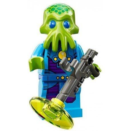 【LEGO 樂高】益智玩具 積木/ Minifigures人偶系列: 13代人偶包 71008   外星兵+雷射槍