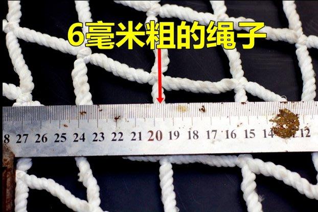 現貨/建築安全網工地防護網尼龍防墜網阻燃網兒童防落繩網(規格不同價格不同)