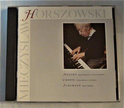 稀少盤(Elektra Nonesuch)Mozart: 鋼琴奏鳴曲K.576、332/ Horszowski