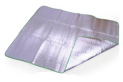 【大山野營】TNR-137 200x200 四人帳篷用 雙面鋁箔墊 鋁箔墊 防潮墊 露營墊 野餐墊 地墊 睡墊