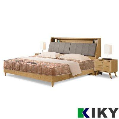 【5硬床】旗艦二線護背彈簧│6尺加大 雙人床墊 彈簧床 【一代德式】KIKY~Germany另有床架 床組