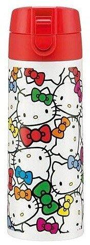 東京家族 Hello Kitty 滿滿頭型350ml保溫瓶/保溫杯/隨手杯