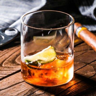 爆款酒具通透輕薄無底玻璃雞尾酒杯 簡約長飲杯柯林杯果汁杯 威士忌杯水杯